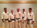 New blue and green belts!