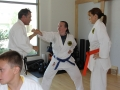 Sensei Cooper instructing Ippon Kumite